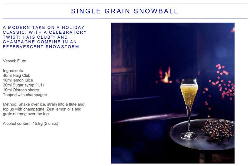 Single Grain Snowball