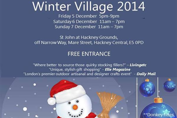 Hackney Winter Village