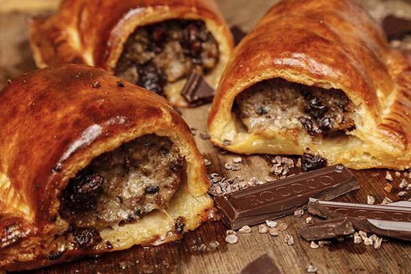 Chocolate Sausage Roll