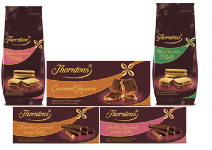 Thorntons Biscuit Range