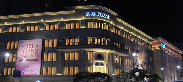 Shinsegae department store things to do seoul 215 600 270