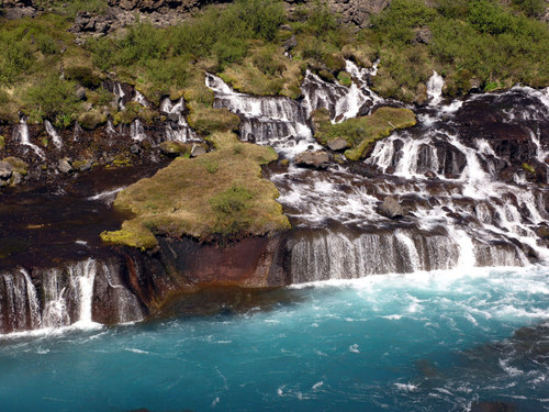 Featured medium photo of Hraunfossar on TripHappy's travel guide