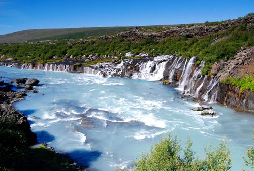 Photo of Hraunfossar in the TripHappy travel guide