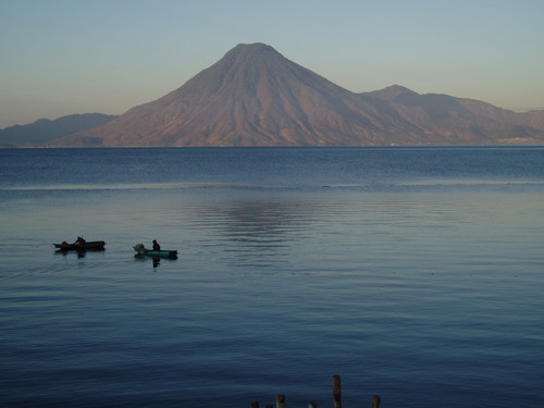 Photo of Lake Atitlán in the TripHappy travel guide