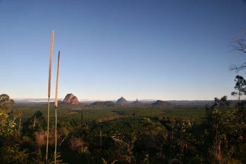 Photo of Glass House Mountains in the TripHappy travel guide