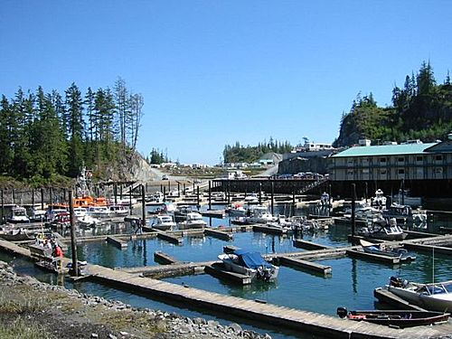 Photo of Telegraph Cove in the TripHappy travel guide