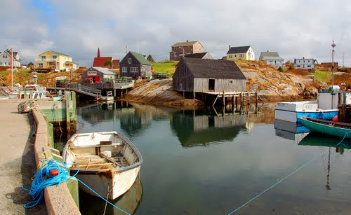 Photo of Peggys Cove in the TripHappy travel guide