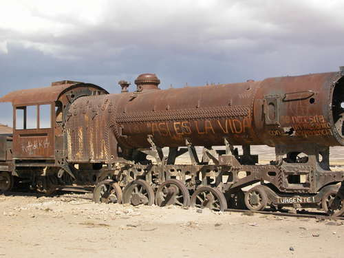 Featured medium photo of Train Cemetery on TripHappy's travel guide