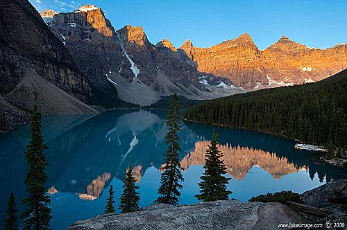 Featured medium photo of Moraine Lake on TripHappy's travel guide