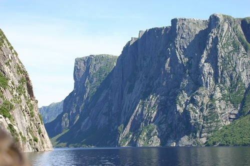 Photo of Western Brook Pond in the TripHappy travel guide