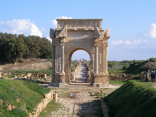 Photo of Leptis Magna in the TripHappy travel guide