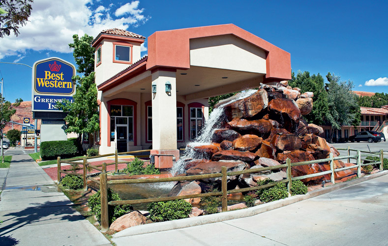 Best western plus greenwell inn h tel moab etats unis for Best western moab