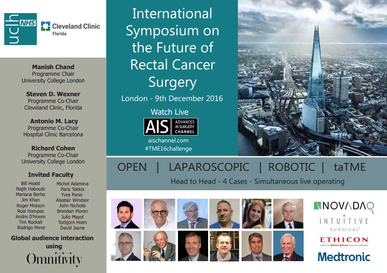 International Symposium on the Future of Rectal Cancer Surgery