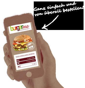 burgerme App-Abbildung