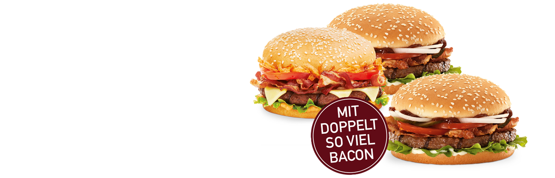 burgerme Bacon Wochen