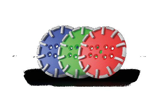 Standard grinding discs