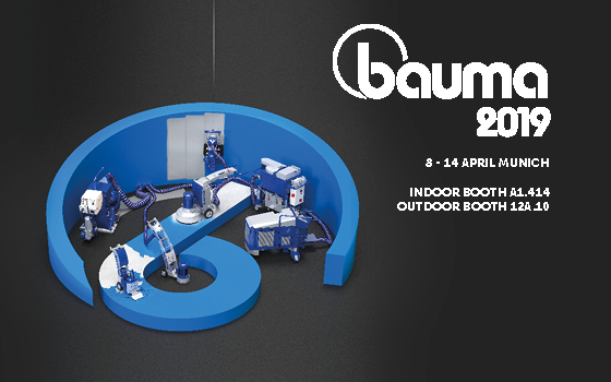 Come and visit us at BAUMA 2019!