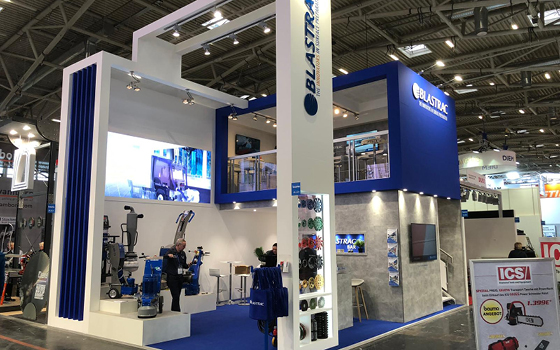 Thank you for visiting Blastrac at Bauma