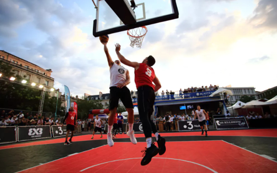 Blastrac official partner of the FIBA 3×3 World Tour