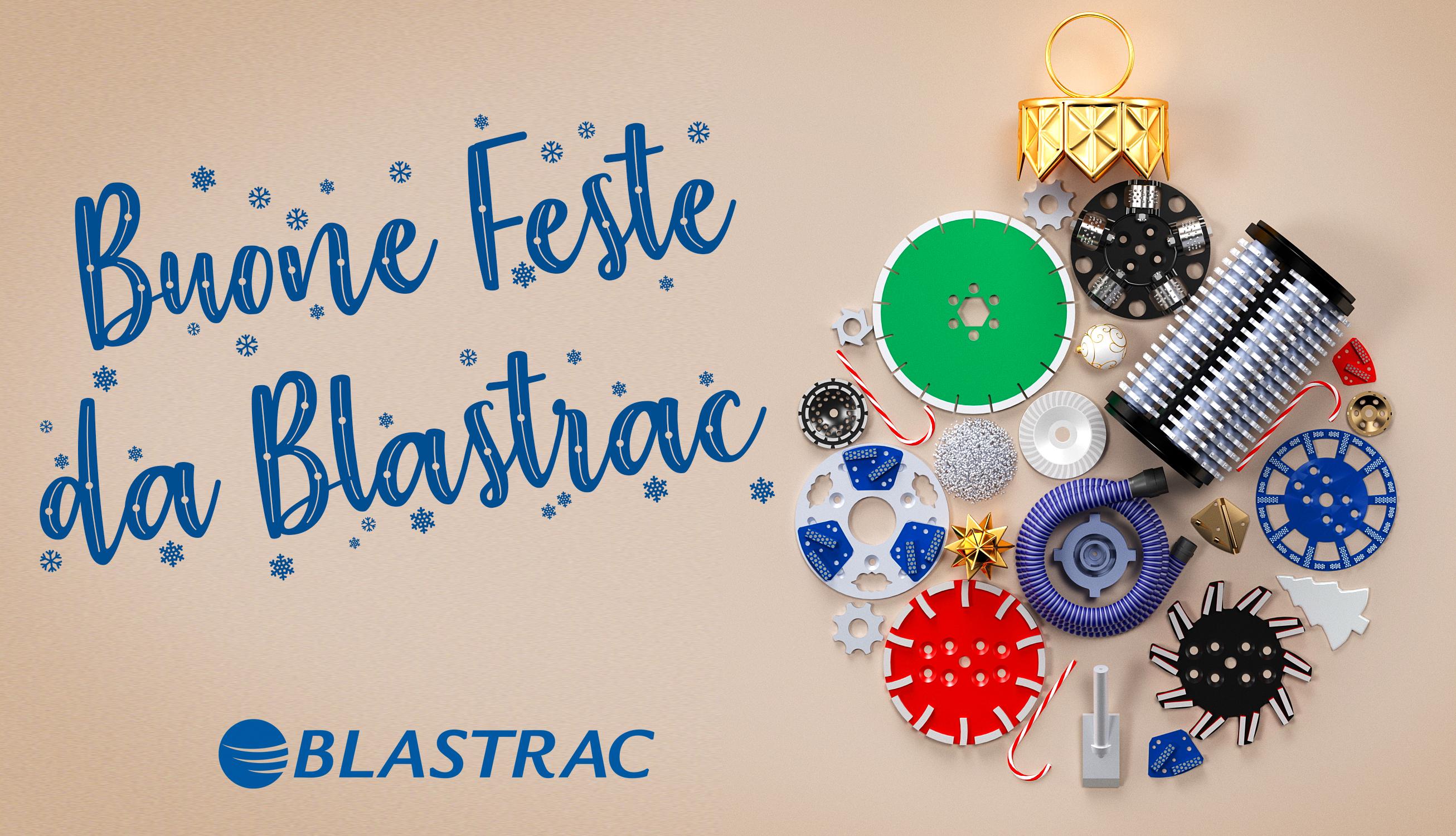 Buone Feste da Blastrac