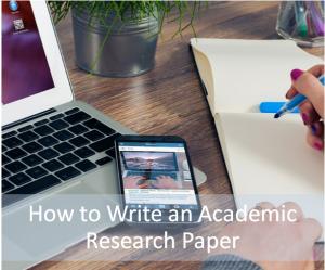 write academic paper