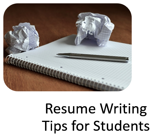 resu,e writing tips for students