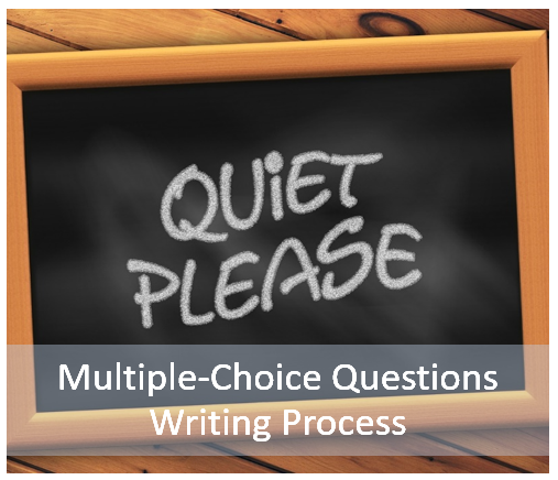 multiple choice questions writing process