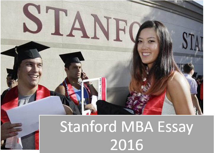 mba application essay 2016