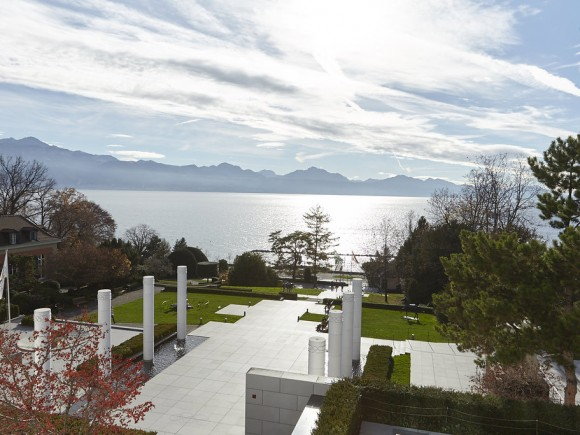 The Olympic Museum landscape