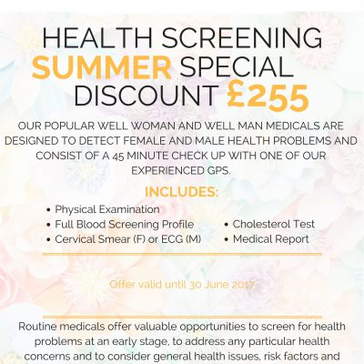 Summer Health Screen