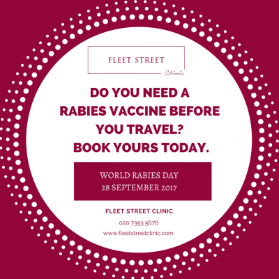 Do you need a Rabies Vaccine for your next trip?