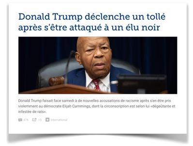 En tete Figaro Trump Cummings