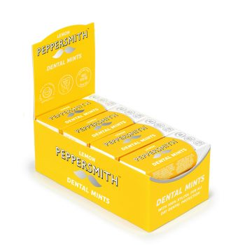 Peppersmith Lemon Mints Case