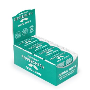 Peppersmith Peppermint Mints Pocket Pack Case