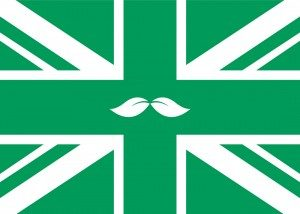 Peppersmith green union jack flag