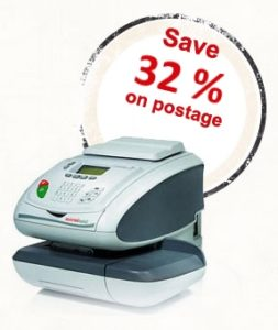 Save 32% on postage with a Franking Machine