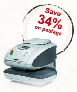 Save 34% on postage with Franked Mail