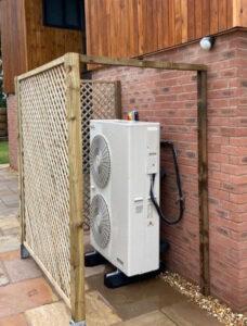 Conscious Energy heat pump installation
