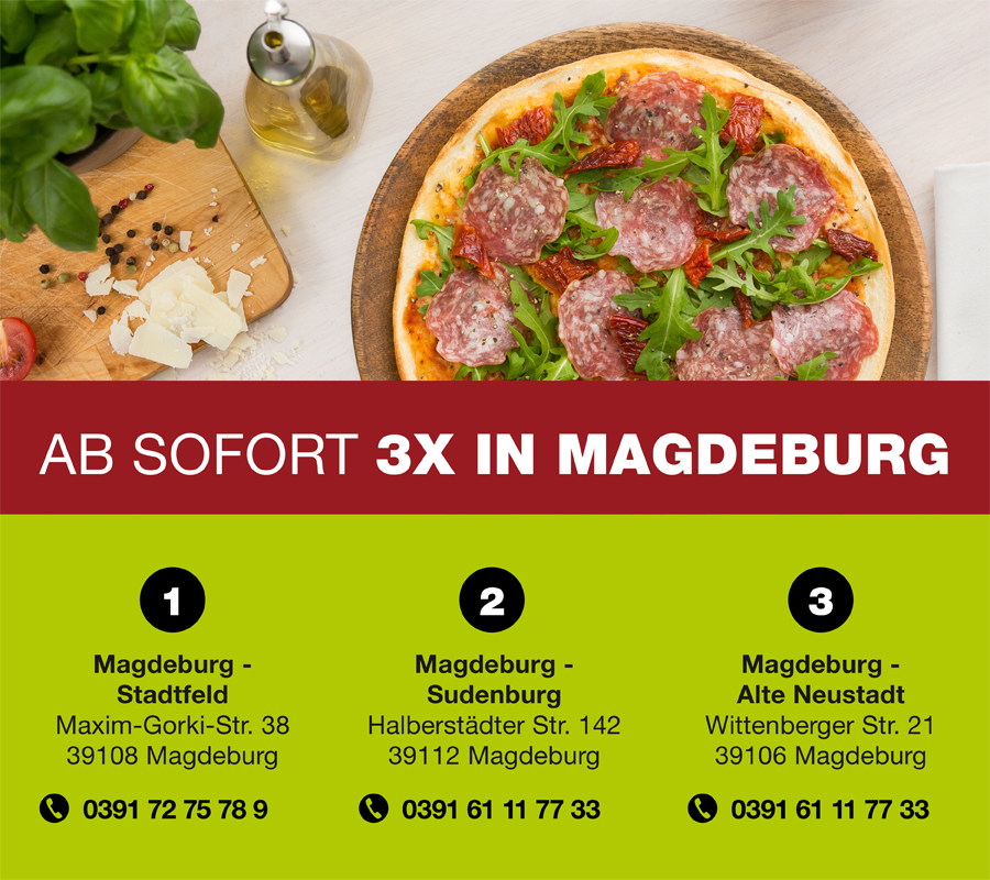 WORLD OF PIZZA Magdeburg