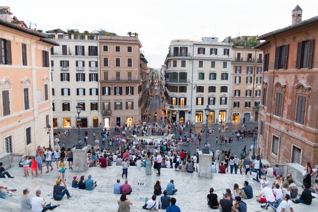 Spanish Steps and Piazza di Spagna in Rome