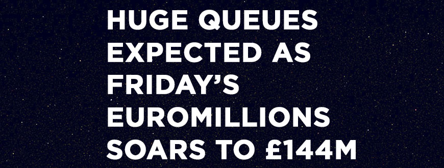 Friday's EuroMillions Soar