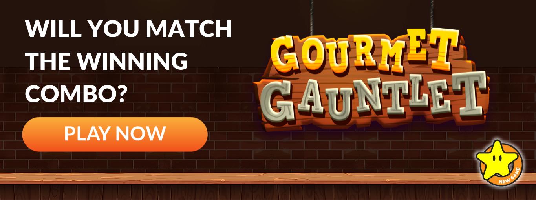 Gourmet Gauntlet Store Banner