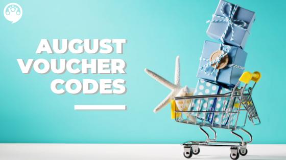 Voucher Codes _ August