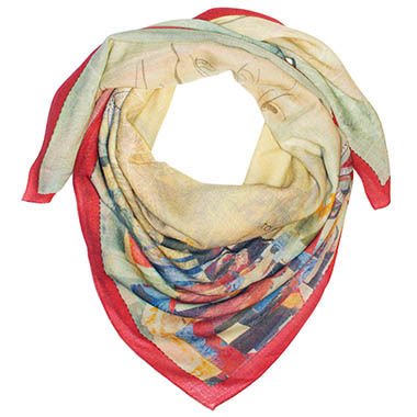 wrq.e.d Muse scarf