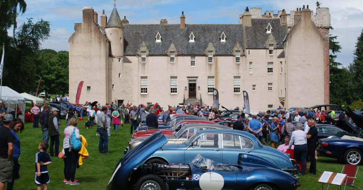 Mg Classic Car Show National Trust For Scotland