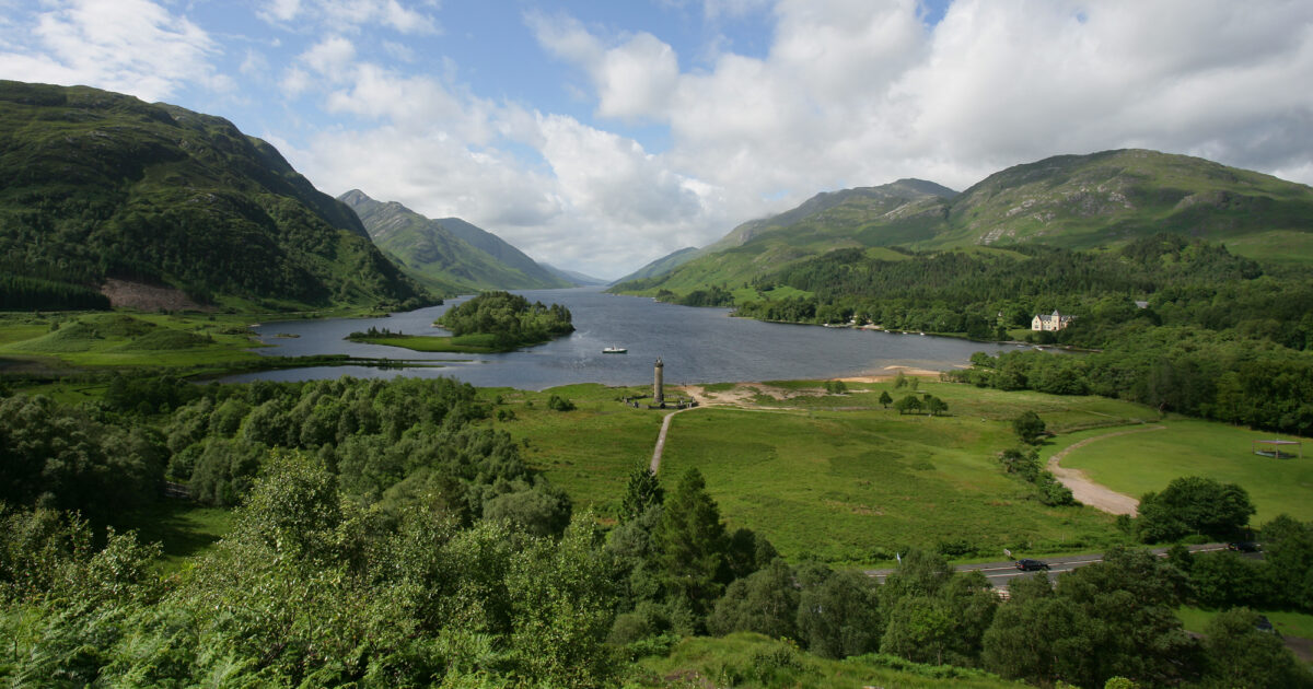 Glenfinnan Monument | National Trust for Scotland |Glenfinnan Scotland