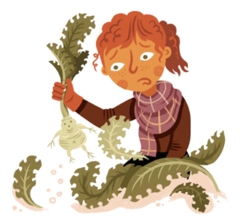 Kale-pulling - Scottish Halloween Traditions