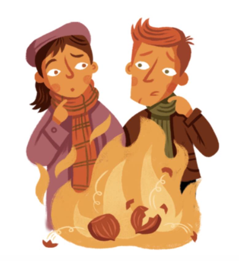 Nut-Burning - Scottish Halloween Traditions