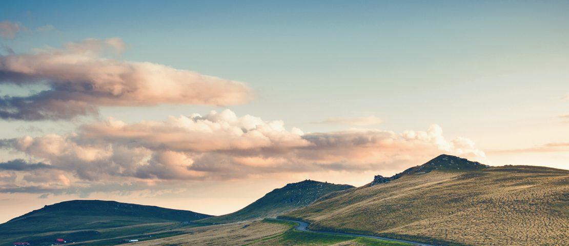 Landscape image of hills