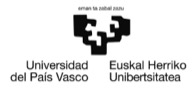 Universidad del País Vasco en Wuolah.